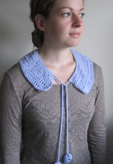 100% Merino Wool Collar