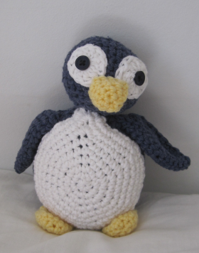 Cotton and Polyester Penguin