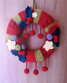 Christmas Wreath. (Sold, but similar available)