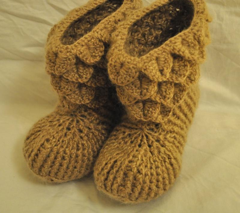Mohair Blend Slippers