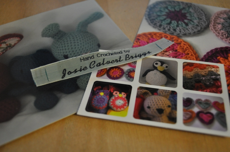 Postcards and Fabric Labels