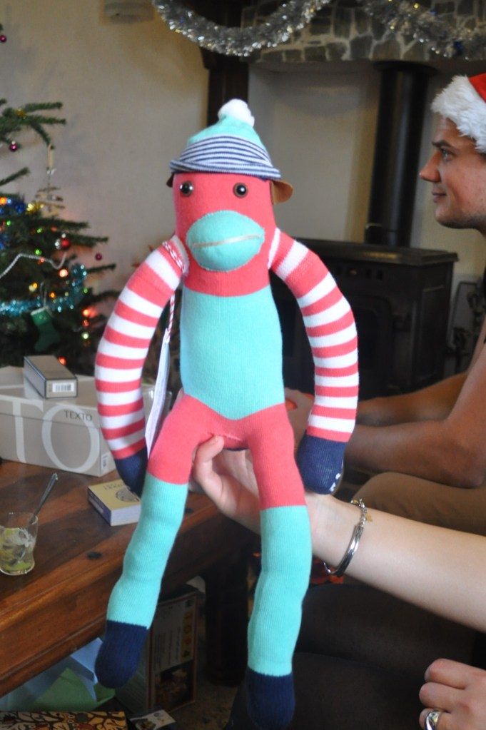 Sock Monkey by Peanut and Co