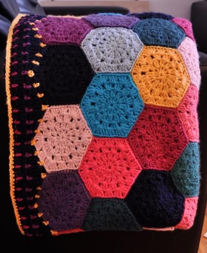Crochet Hex Blanket £100