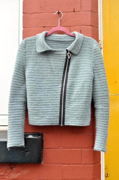 Crochet Biker Jacket