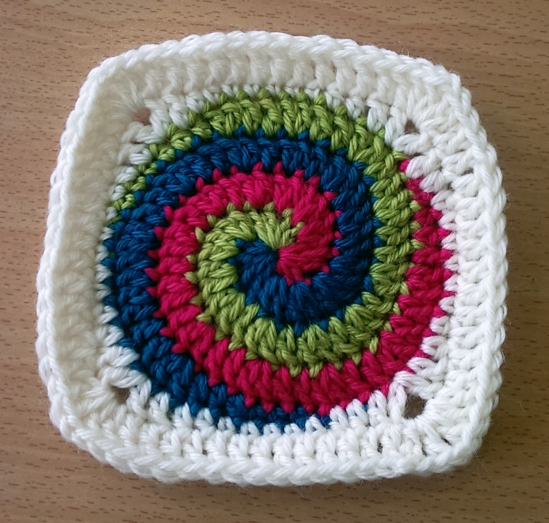 Large Spiral Square